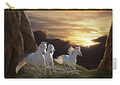 Carry-all Pouch featuring the photograph Above The Storm by Melinda Hughes-Berland