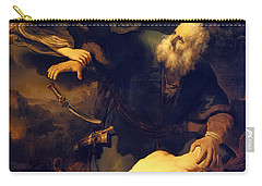Abraham And Isaac Carry-all Pouch