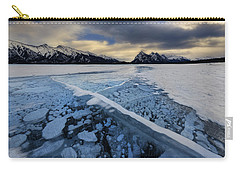 Abraham Lake Ice Bubbles Carry-all Pouch