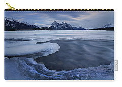 Abraham Lake Sans Bubbles Carry-all Pouch