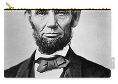 Abraham Lincoln -  Portrait Carry-all Pouch by International  Images