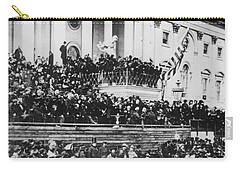 Abraham Lincoln Gives His Second Inaugural Address - March 4 1865 Carry-all Pouch
