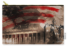 Carry-all Pouch featuring the painting Abraham Lincoln by Gull G