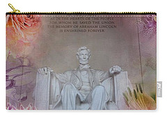 Abraham Lincoln Memorial At Spring Carry-all Pouch by Marianna Mills