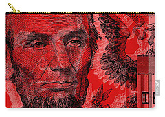 Abraham Lincoln Pop Art Carry-all Pouch