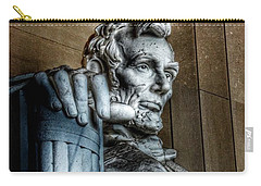 Abraham Lincoln Statue - The Lincoln Memorial Washington D. C.  Carry-all Pouch