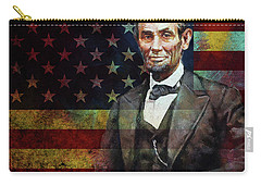 Abraham Lincoln The President  Carry-all Pouch by Gull G