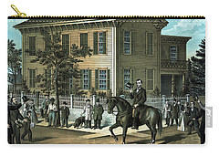 Abraham Lincoln's Return Home Carry-all Pouch by War Is Hell Store