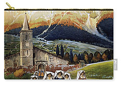 Abruzzo Italy Travel Poster 1920 Carry-all Pouch