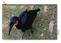 Abssynnian Ground Hornbill Carry-all Pouch