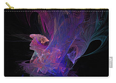 Abstact Pink Swan Carry-all Pouch by Tamara Sushko