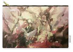 Carry-all Pouch featuring the painting Abstract #01 by Raymond Doward