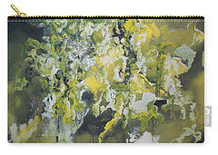 Carry-all Pouch featuring the painting Abstract #010 by Raymond Doward