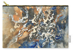 Carry-all Pouch featuring the painting Abstract #011 by Raymond Doward