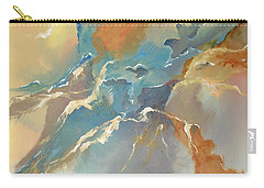 Carry-all Pouch featuring the painting Abstract #04 by Raymond Doward