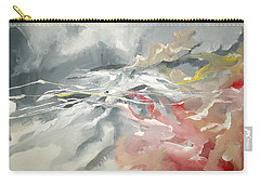 Carry-all Pouch featuring the painting Abstract #06 by Raymond Doward