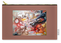 Carry-all Pouch featuring the painting Abstract #07 by Raymond Doward
