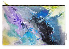 Carry-all Pouch featuring the painting Abstract #08 by Raymond Doward