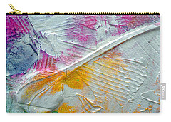 Carry-all Pouch featuring the painting Abstract 1 by Tracy Bonin