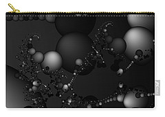 Abstract 119 Bw Carry-all Pouch