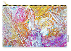 Carry-all Pouch featuring the painting Abstract 2 by Tracy Bonin