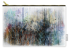 2f Abstract Expressionism Digital Painting Carry-all Pouch