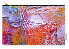 Carry-all Pouch featuring the painting Abstract 3 by Tracy Bonin