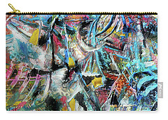 Abstract 301 - Encaustic Carry-all Pouch