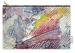 Carry-all Pouch featuring the painting Abstract 4 by Tracy Bonin