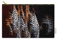 Carry-all Pouch featuring the digital art Abstract 401 by Rafael Salazar