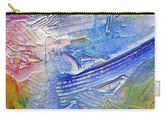 Carry-all Pouch featuring the painting Abstract 6 by Tracy Bonin