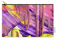 Carry-all Pouch featuring the painting Abstract 6525 by Stephanie Moore
