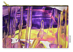Carry-all Pouch featuring the painting Abstract 6526 by Stephanie Moore