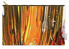 Carry-all Pouch featuring the painting Abstract 6535 by Stephanie Moore