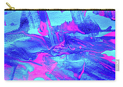 Carry-all Pouch featuring the painting Abstract 6544 by Stephanie Moore