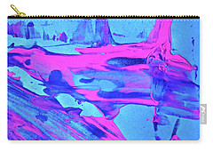 Carry-all Pouch featuring the painting Abstract 6547 by Stephanie Moore