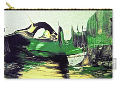 Carry-all Pouch featuring the painting Abstract 6551 by Stephanie Moore
