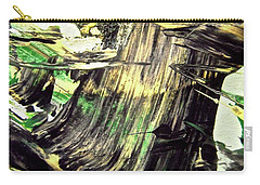 Carry-all Pouch featuring the painting Abstract 6554 by Stephanie Moore