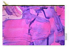 Carry-all Pouch featuring the painting Abstract 6558 by Stephanie Moore