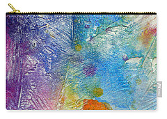 Carry-all Pouch featuring the painting Abstract 7 by Tracy Bonin