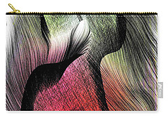 Carry-all Pouch featuring the digital art Abstract 785 by Rafael Salazar
