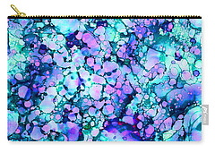 Abstract 8 Carry-all Pouch by Patricia Lintner