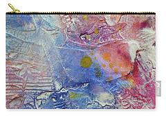Carry-all Pouch featuring the painting Abstract 8 by Tracy Bonin