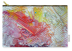 Carry-all Pouch featuring the painting Abstract 9 by Tracy Bonin
