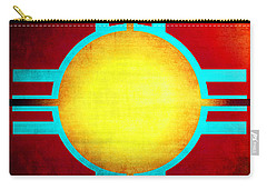 Abstract 98 Carry-all Pouch by Timothy Bulone