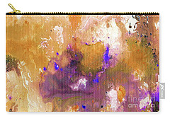 Abstract Acrylic Painting Purple  Carry-all Pouch