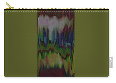 Carry-all Pouch featuring the painting Abstract - Another View Of The City by Lenore Senior