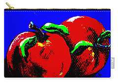 Abstract Apples Carry-all Pouch by Jennifer Lake