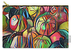 Abstract Apples Carry-all Pouch