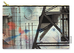Abstract Architecture Carry-all Pouch